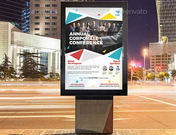 Business Academic Conference Poster