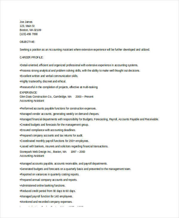 College Paper Format Term Paper Outline Resume Format For Accounts