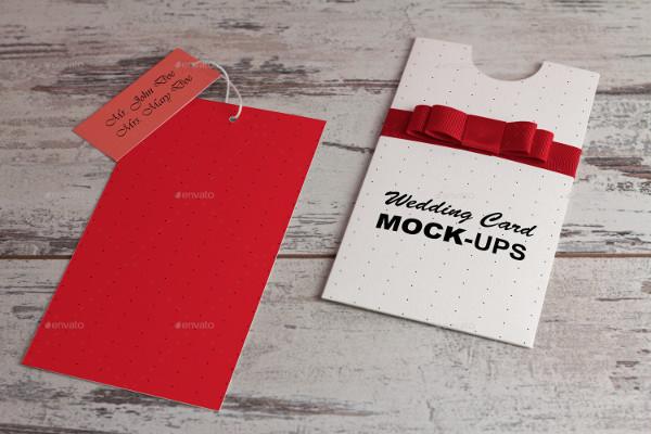 Wedding Invitation Envelope Mockup