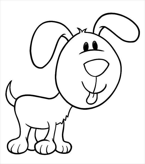 puppy-face-coloring-page