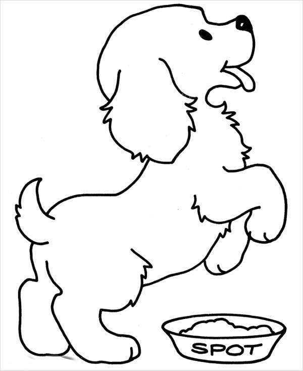 puppy-outline-coloring-page