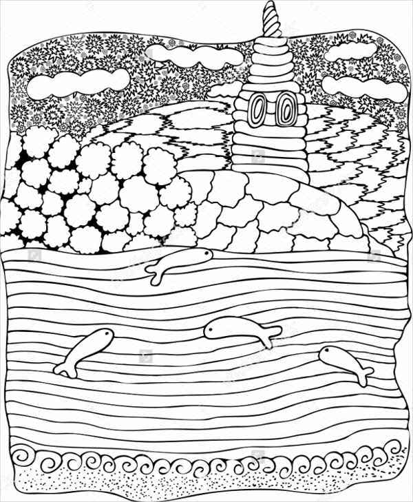 land-and-sea-coloring-page