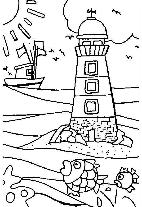 light-house-coloring-page