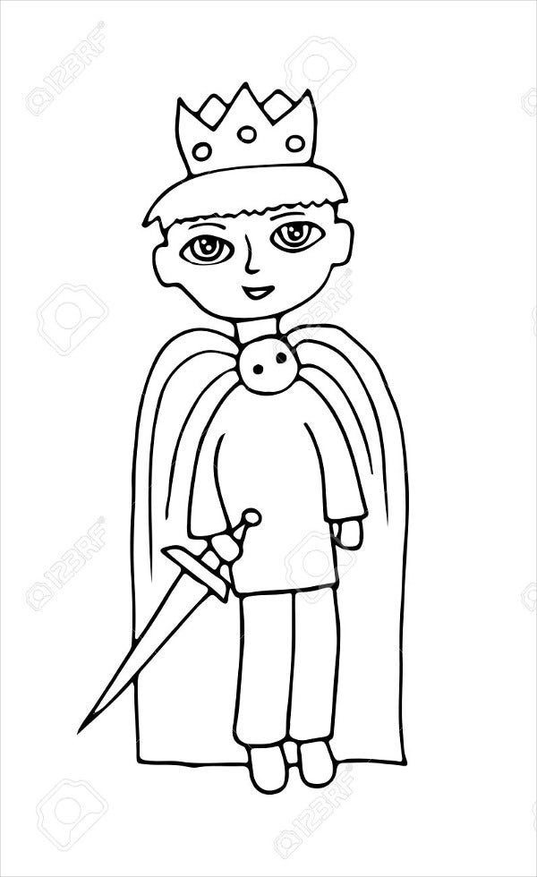 standing-boy-coloring-page