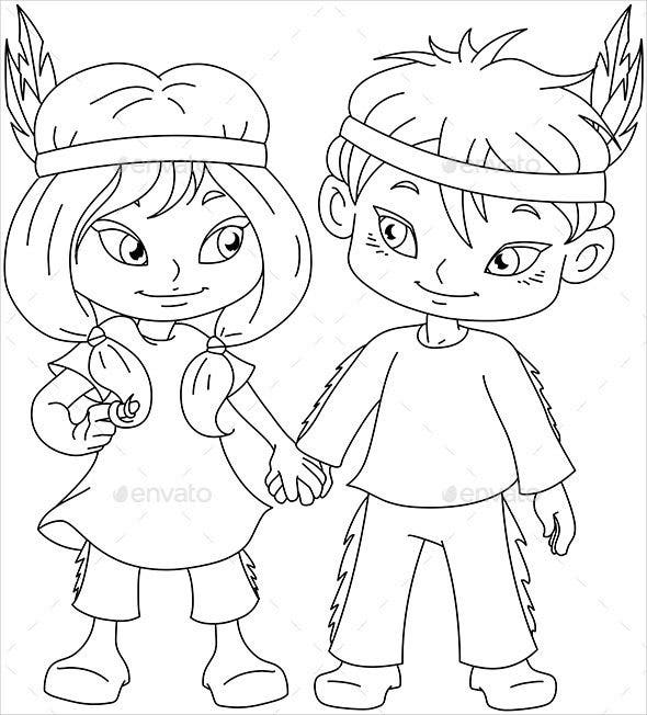 boy-and-girl-coloring-page