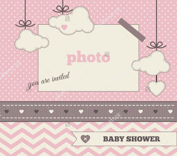 baby shower invitation banners design templates free premium