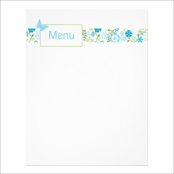 floral-baby-shower-menu-design