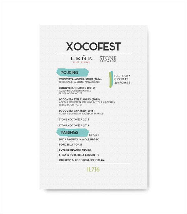 customized-event-menu-template