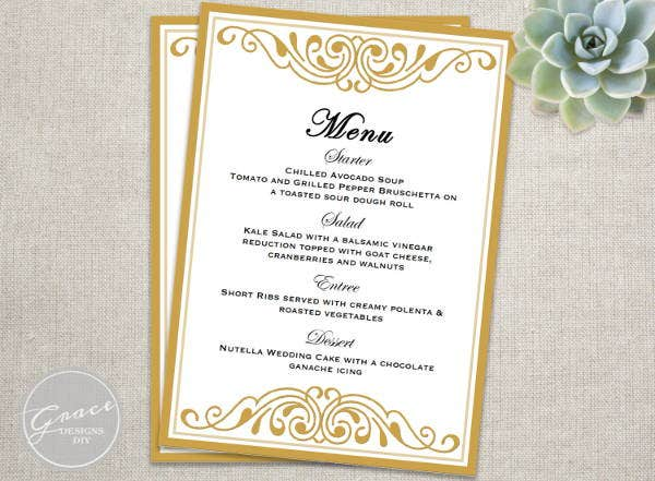 6+ Event Menu Templates - Psd, Vector Eps, Ai Illustrator Download