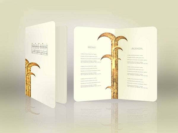 special-event-menu-design