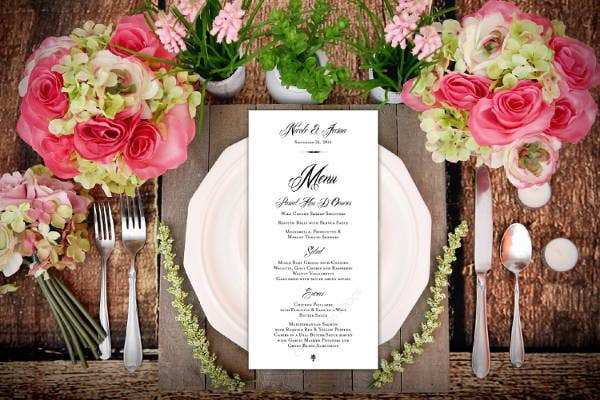 wedding-event-menu-design