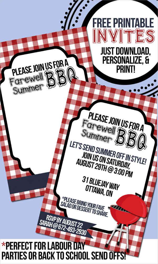 farewell bbq lunch invitation1