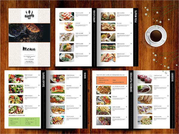 Hotel Restaurant Menu Template