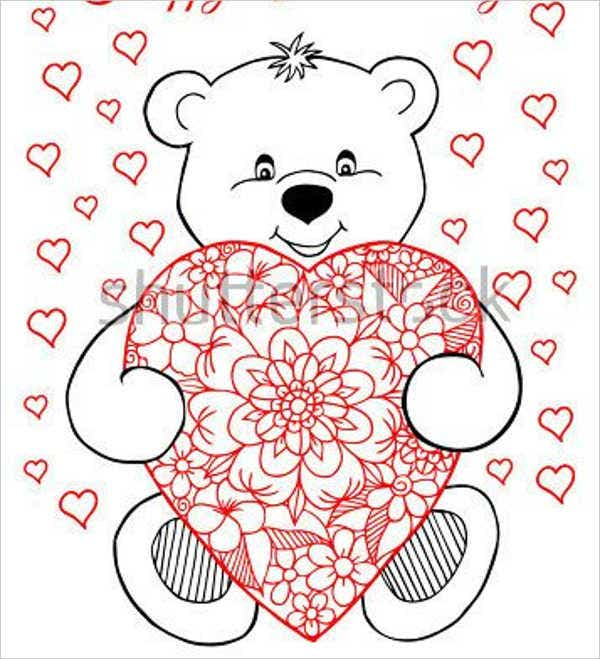 teddy-bear-with-heart-coloring-page