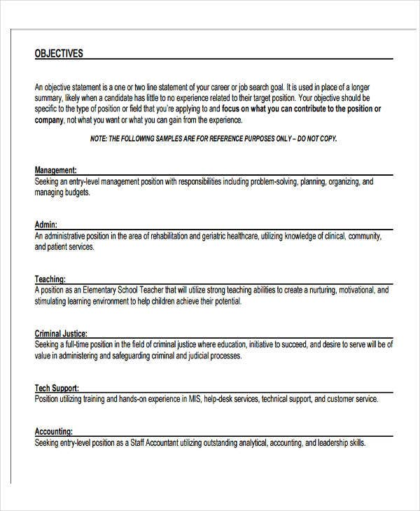 fresher resume template in word