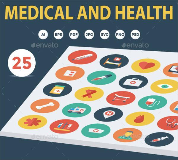 hospital-service-menu-template