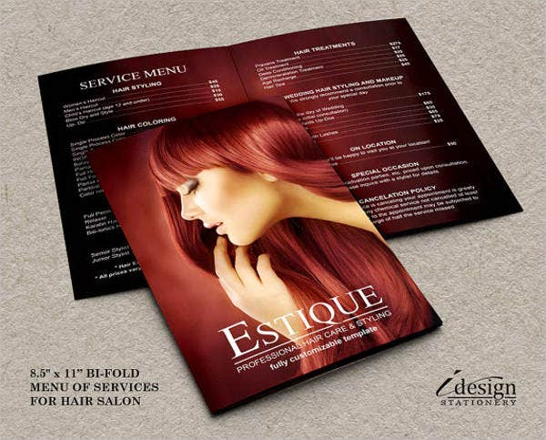 salon-service-menu-template