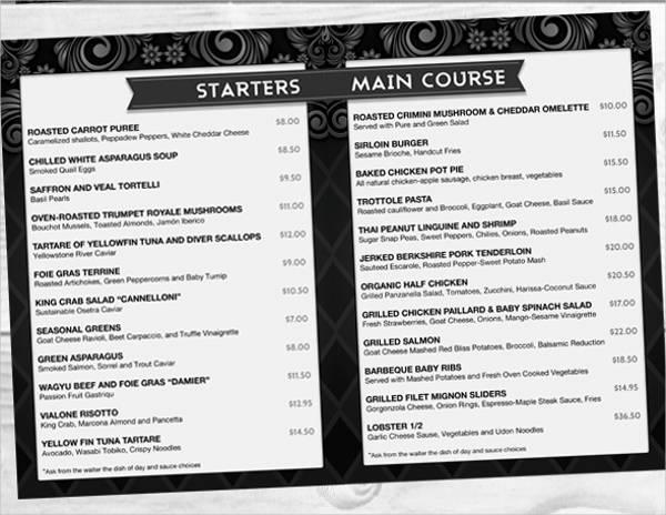 free-printable-buffet-menu-design