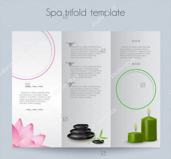 9  salon menu templates