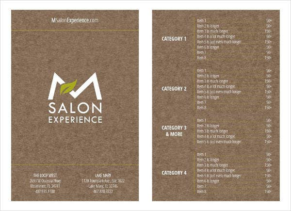 vintage-salon-menu-template