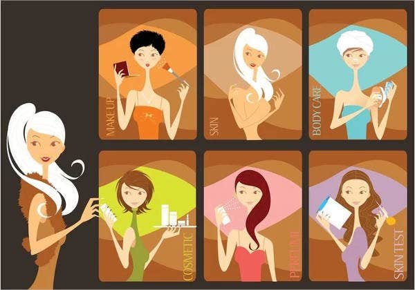 beauty salon treatment menu design1