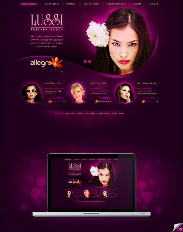 9 salon menu templates psd vector eps ai illustrator download