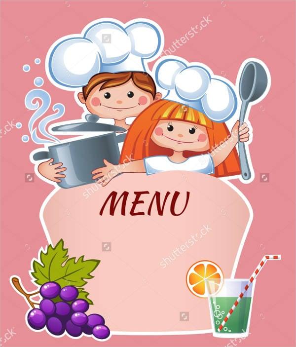 preschool snack menu template