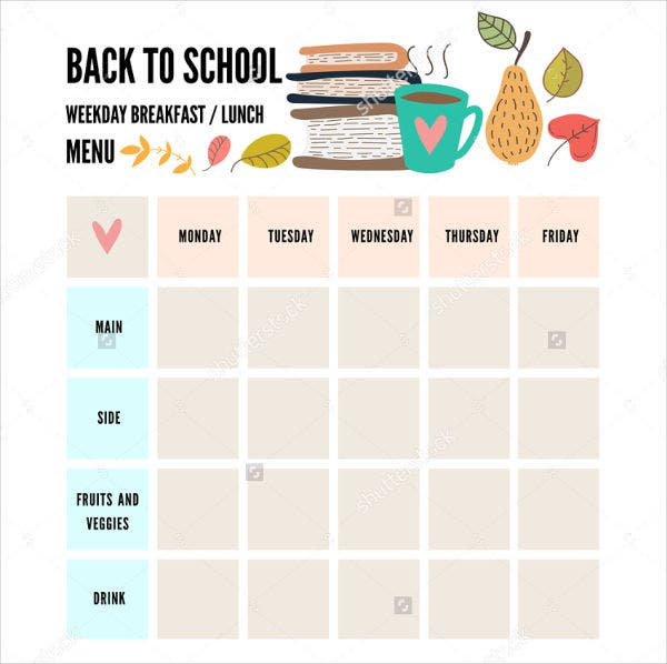 preschool-weekly-menu-template