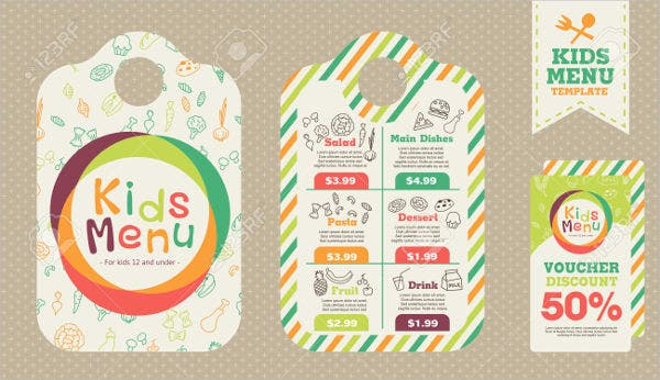 preschool-kids-menu-template