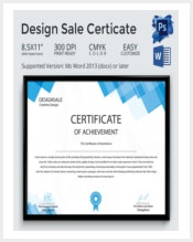 design-sale-certificate