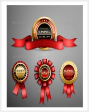 red-award-ribbons-and-golden-medals