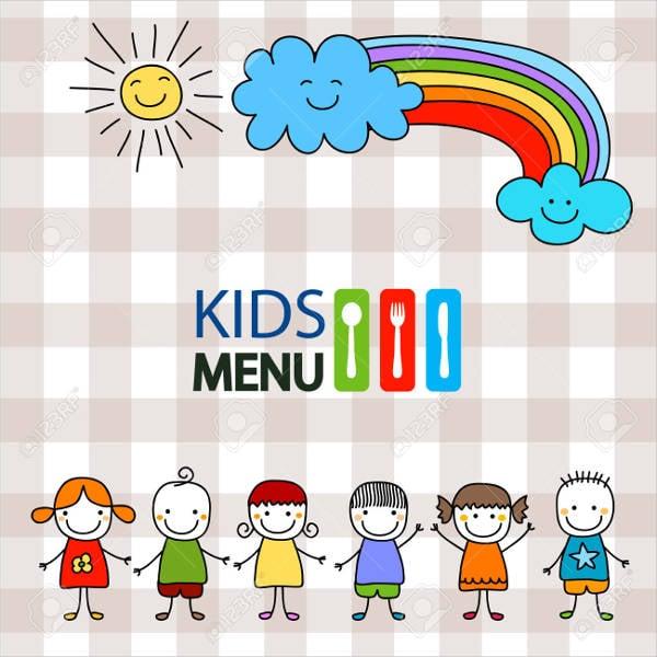 preschool summer menu design3