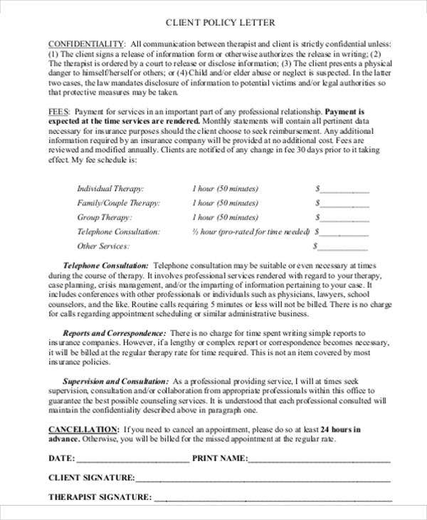 Missed Appointment Letter Template - 6+ Free Word, Pdf Format
