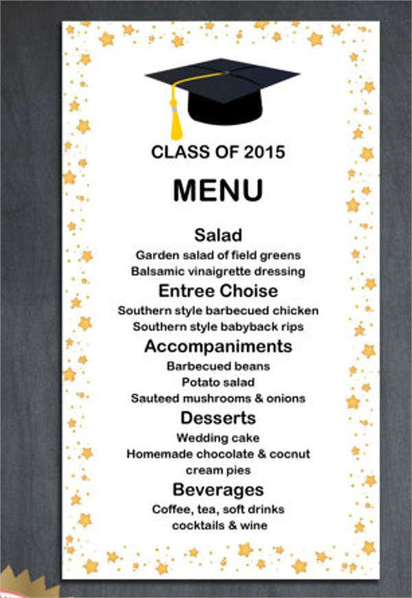 formal dinner party menu template | trattorialeondoro