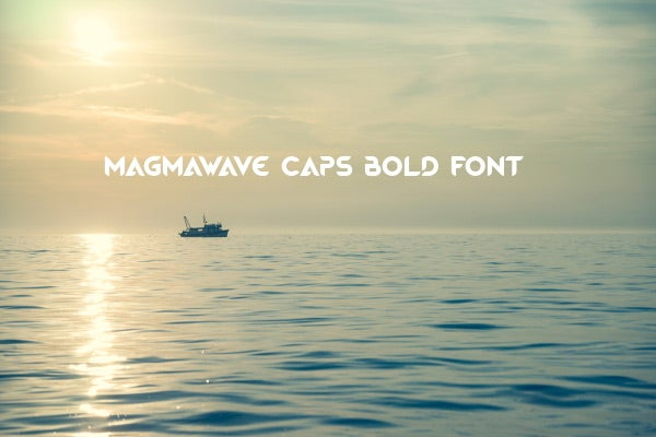 wave bold font