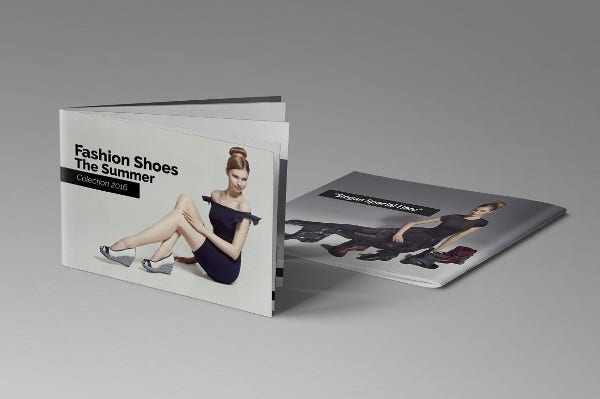 fashion catalog layout design