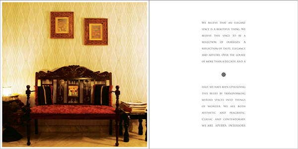 interior book layout design