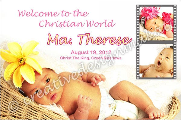 christening-banner-layout-design
