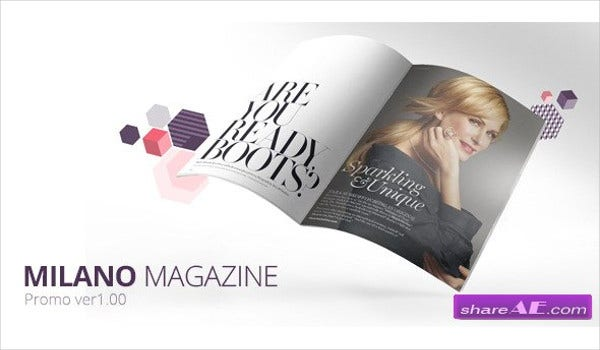 Magazine Project After Effects Template
