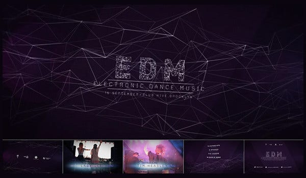 Music Night After Effects Template