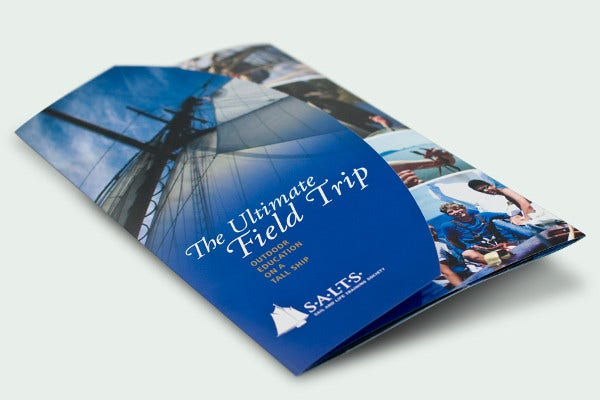 Die-cut Brochure Cover Design