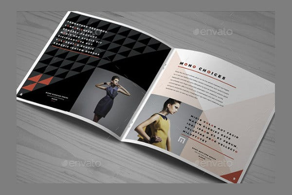 Fashion Brochure Cover Design