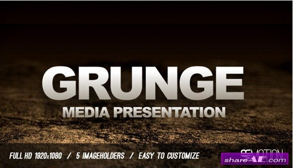 grunge-presentation-after-effects-template