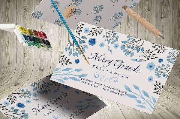 floating-watercolor-business-card-template