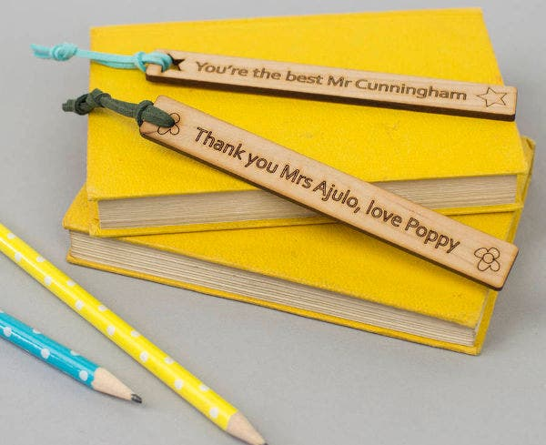 Thank You Teacher Bookmark Template