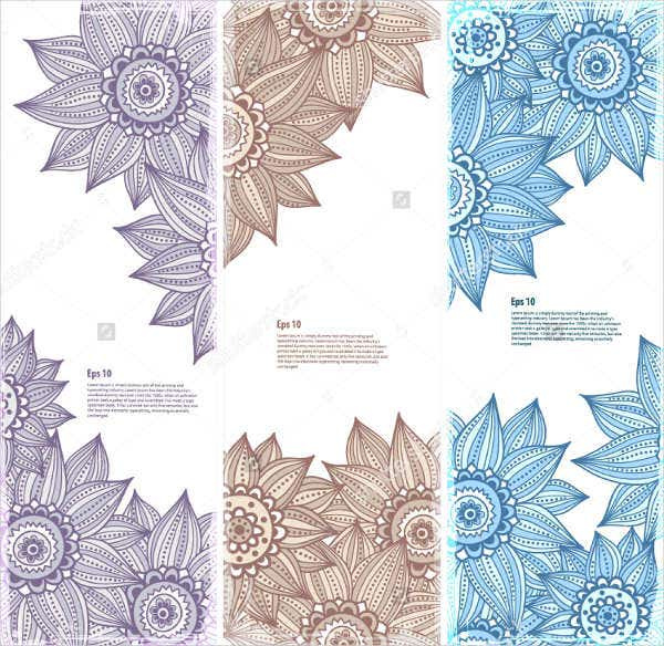 8 flower bookmark templates 9 free psd ai vector eps for Design a bookmark template
