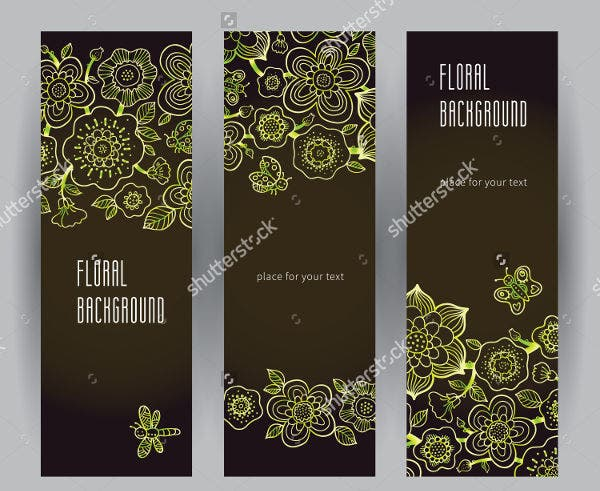 flower-petal-bookmark-template