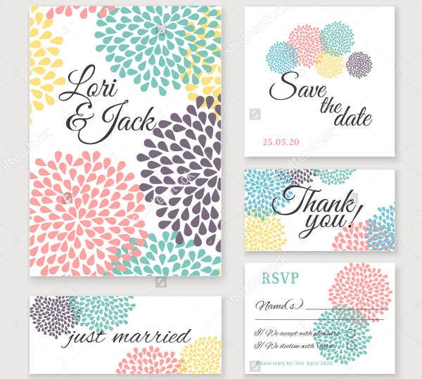 Wedding Thank You Messages Card