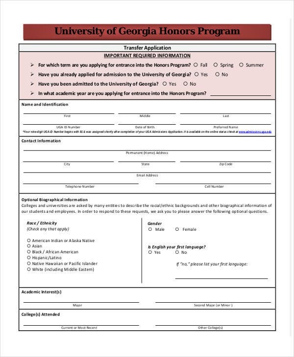 Transfer-Application-Academic-Recommendation-Letter1 Job Application Form Template Word Uk on child care, for small businesses, california state, tracking spreadsheet, microsoft word free, free printable blank, for retail,