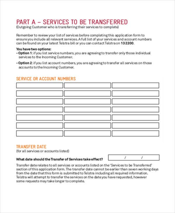 Transfer Request Form Budget Transfer Request Form In Pdf Sample